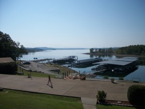 View from Branson Boat Club